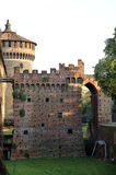 Castillo en Milano Fotos de archivo libres de regalías