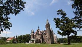 Castillo en Moszna Fotos de archivo libres de regalías