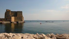 Castillo en Nápoles Fotografía de archivo libre de regalías