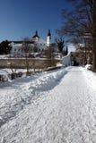 Castillo en pardubice Imagen de archivo