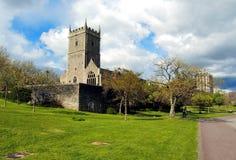 Castillo en parque en Bristol, Reino Unido Imágenes de archivo libres de regalías