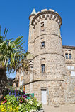 Castillo en Pelussin Foto de archivo