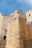 Castillo en Peniscola, Valencia de papa Luna Fotos de archivo