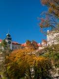 Castillo en Pieskowa Skala Fotografía de archivo