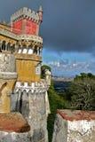 Castillo en Portugal fotografía de archivo