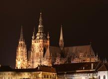 Castillo en Praga Imagenes de archivo