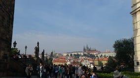 Castillo en Praga Foto de archivo