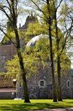 Castillo en primavera Imágenes de archivo libres de regalías