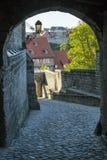 Castillo en Quedlinburg, Alemania Imagen de archivo