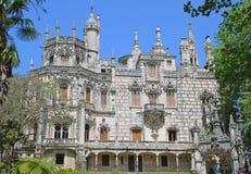 Castillo en Quinta DA Regaleira Fotografía de archivo libre de regalías