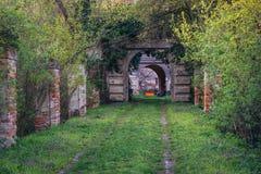 Castillo en Rabensburg foto de archivo libre de regalías