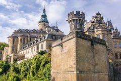 Castillo en República Checa fotografía de archivo