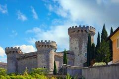 Castillo en Roma, Italia Imagen de archivo libre de regalías