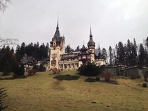 Castillo en Rumania Imagenes de archivo