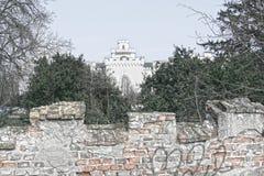 Castillo en Rusovce Eslovaquia Fotos de archivo libres de regalías