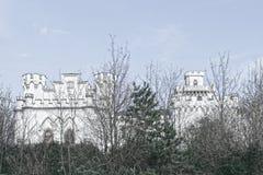 Castillo en Rusovce Eslovaquia Foto de archivo libre de regalías