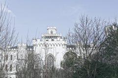 Castillo en Rusovce Eslovaquia Foto de archivo