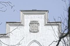 Castillo en Rusovce Eslovaquia Imagen de archivo libre de regalías