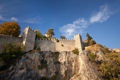 Castillo en San Marino Fotos de archivo