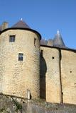 Castillo en sedán imagen de archivo libre de regalías