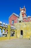 Castillo en Sintra. Portugal Imagenes de archivo