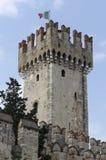 Castillo en Sirmione fotografía de archivo libre de regalías
