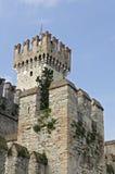 Castillo en Sirmione fotos de archivo