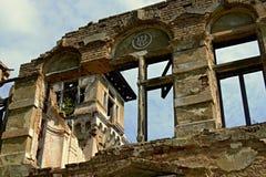 Castillo en Skrytin Foto de archivo