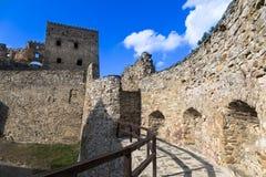 Castillo en Stara Lubovna dentro eslovaquia Imagen de archivo libre de regalías