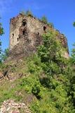 Castillo en Swiecie Fotos de archivo libres de regalías
