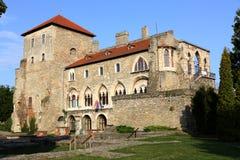 Castillo en Tata, Hungría Fotografía de archivo libre de regalías