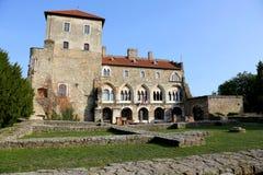 Castillo en Tata, Hungría Imagen de archivo