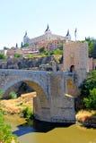 Castillo en Toledo, España Foto de archivo libre de regalías