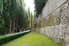 Castillo en Toscana Fotografía de archivo