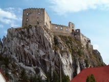 Castillo en un acantilado Foto de archivo libre de regalías