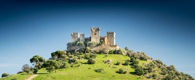 Castillo en una colina Fotografía de archivo libre de regalías