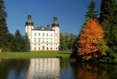Castillo en Vrchlabi Fotos de archivo