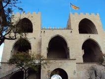 Castillo en Walencja Obraz Royalty Free
