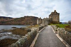 Castillo escocés imagen de archivo libre de regalías