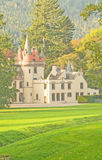 Castillo escocés. Fotografía de archivo