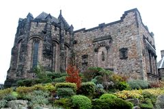 Castillo escocés, Escocia Imagen de archivo libre de regalías