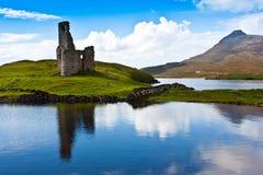 Castillo escocés Fotografía de archivo