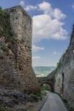 Castillo Eslovaquia de Trencin Foto de archivo libre de regalías