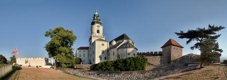 Castillo Eslovaquia del hrad de Nitransky Foto de archivo