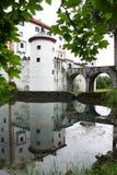 Castillo Eslovenia de Sneznik Fotografía de archivo