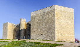Castillo España de Montealegre de Campos fotografía de archivo libre de regalías