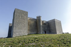 Castillo España de Montealegre de Campos fotos de archivo