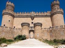 Castillo español foto de archivo libre de regalías