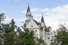 Castillo famoso de Neuschwanstein en Baviera, Alemania Fotografía de archivo libre de regalías