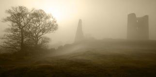 Castillo fantasmal Fotos de archivo libres de regalías